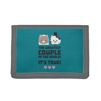 Greatest Couple in the World Its true Z3j3h Tri-fold Wallet