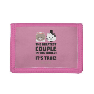 Greatest Couple in the World Its true Z3j3h Trifold Wallet