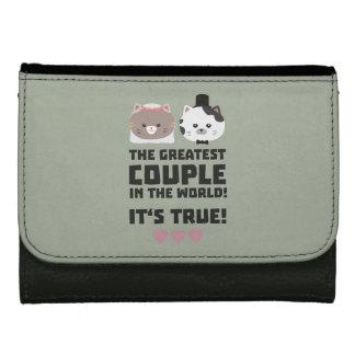 Greatest Couple in the World Its true Z3j3h Women's Wallets