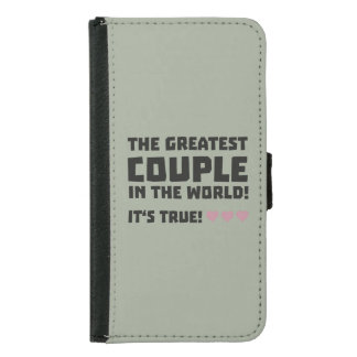 Greatest Couple in the world  Z5rz0 Samsung Galaxy S5 Wallet Case