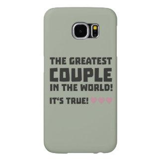 Greatest Couple in the world  Z5rz0 Samsung Galaxy S6 Case