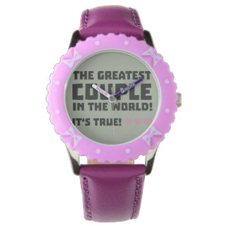 Greatest Couple in the world  Z5rz0 Wrist Watches
