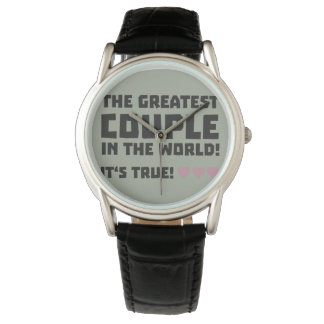 Greatest Couple in the world  Z5rz0 Wristwatches