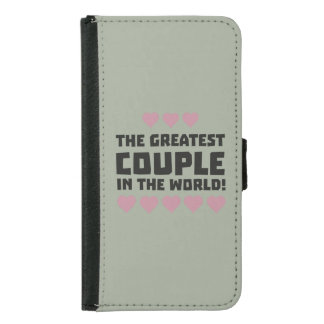 Greatest Couple Love Zg5qi Samsung Galaxy S5 Wallet Case