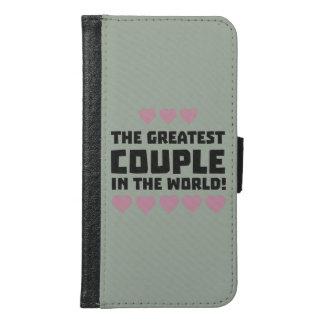 Greatest Couple Love Zg5qi Samsung Galaxy S6 Wallet Case