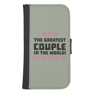 Greatest Couple Love Zg5qi Samsung S4 Wallet Case