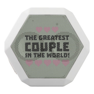 Greatest Couple Love Zg5qi White Bluetooth Speaker