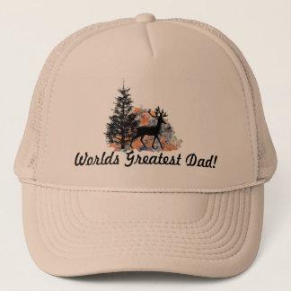 Greatest Dad Deer Trucker Hat
