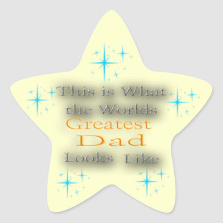 Greatest Dad - Father's Day Sticker