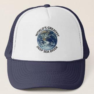 Greatest Deep sea Diver Trucker Hat