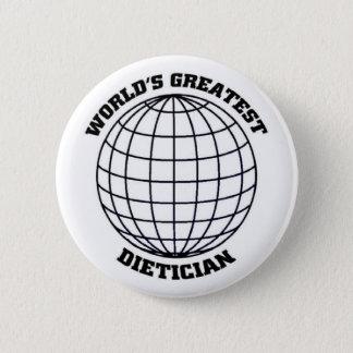 Greatest Dietitian 2 Inch Round Button