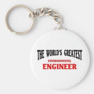 Greatest Environmental Engineer Key Chains