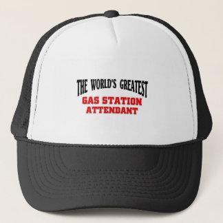 Greatest Gas Station Attendant Trucker Hat