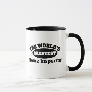 Greatest Home Inspector Mug
