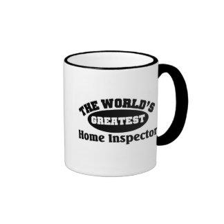 Greatest Home Inspector Ringer Coffee Mug
