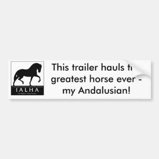 Greatest Horse Bumper Sticker