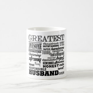 Greatest Husband ever sweet personalized Coffee Mug