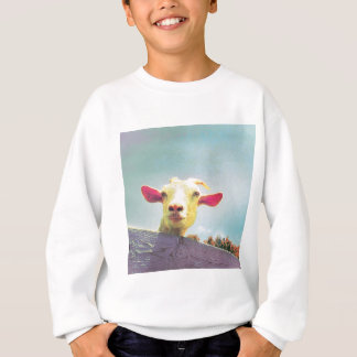 Greatest of All Time pink eared goat Sweatshirt