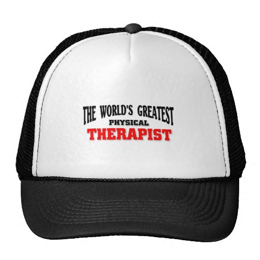 Greatest Physical Therapist Hats