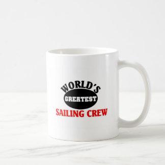 Greatest sailing Crew Basic White Mug
