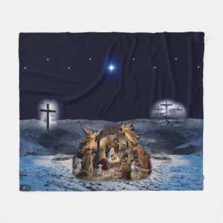 Greatest Story Ever Told Fleece Blankets