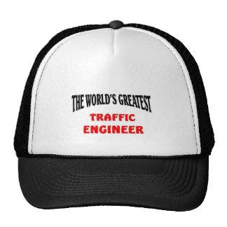 Greatest traffic engineer trucker hat