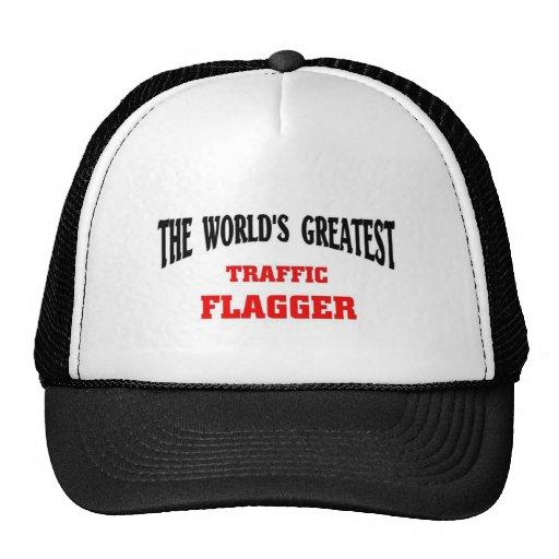 Greatest Traffic Flagger Trucker Hats