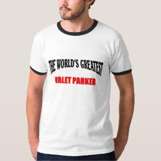 Greatest valet parker T-Shirt