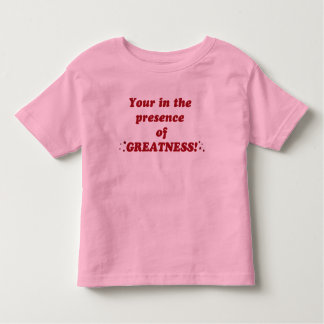 Greatness Toddler T-shirt