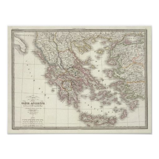 Grece ancienne - Ancient Greece Poster