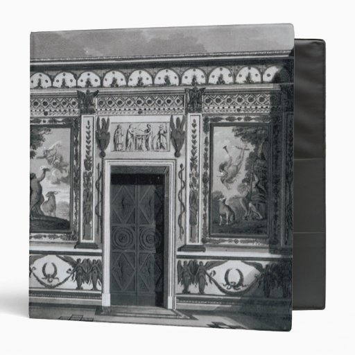 Grecian salon, from 'Architectural 3 Ring Binder