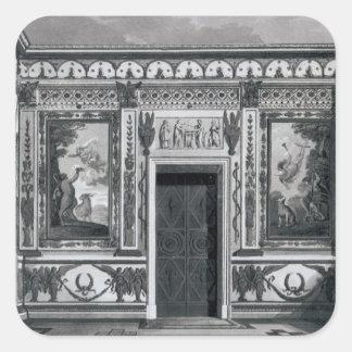 Grecian salon, from 'Architectural Square Sticker