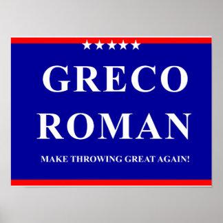 Greco Roman Poster