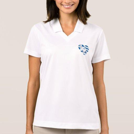 "Greece ""ΕΛΛΆΔΑ"" Soccer Team. Soccer Greece 2014 Polo Shirt"