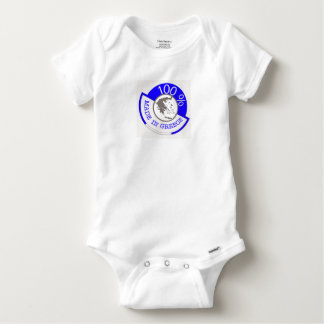 GREECE 100% CREST BABY ONESIE