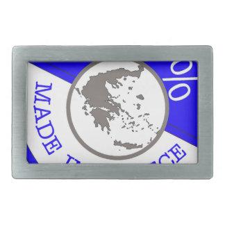 GREECE 100% CREST BELT BUCKLE