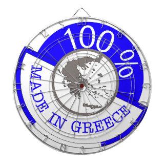 GREECE 100% CREST DARTBOARD