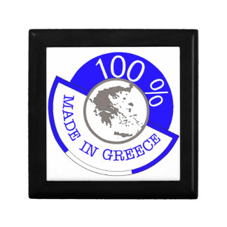 GREECE 100% CREST GIFT BOX
