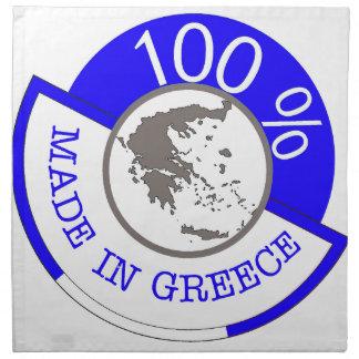 GREECE 100% CREST NAPKIN