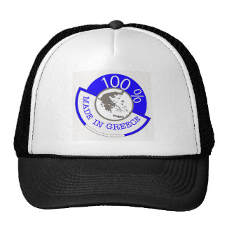 GREECE 100% CREST TRUCKER HAT