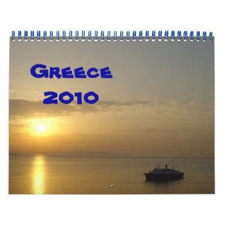 Greece 2010 calendar