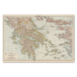 Greece 4 tissue paper