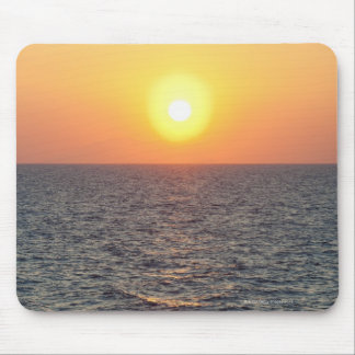 Greece, Aegean Sea horizon at sunset Mouse Pad