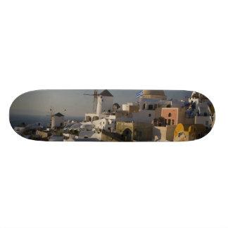 Greece and Greek Island of Santorini town of Oia Skate Board Deck
