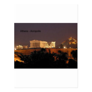Greece - Athens - Acropolis (by St.K) Postcard