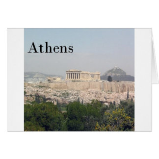 Greece Athens Acropolis Card