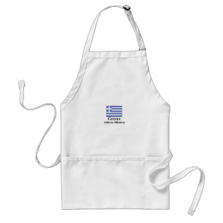 Greece Athens Mission Apron