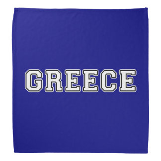 Greece Bandana