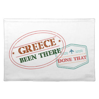 Greece Been There Done That Placemat