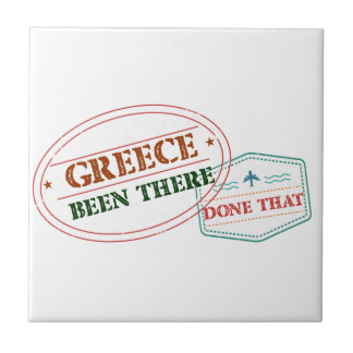 Greece Been There Done That Tile